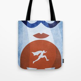 Nightly patrol Superheroes SF Tote Bag