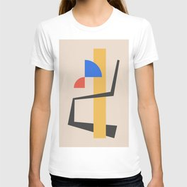 Bauhaus Style Abstract 2 T-shirt