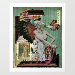 Angel of Decay Art Print