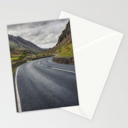 Llanberis Pass Winding Road Stationery Cards