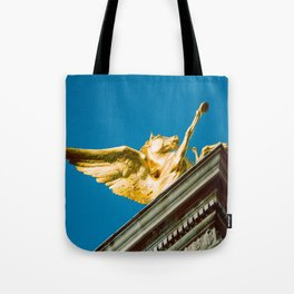 Gold Pegasus Tote Bag