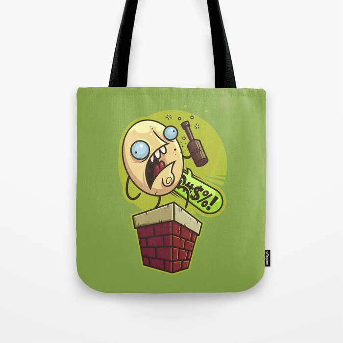 Humpty Drunkty Tote Bag