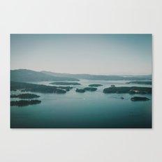 Gulf Islands Canvas Print