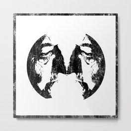 f(th)ree faces Metal Print