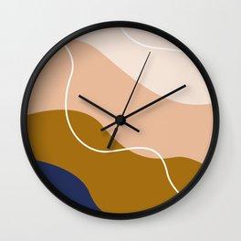 modern chic pattern Wall Clock