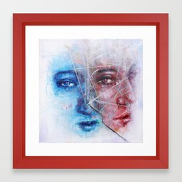 Something Unsaid Framed Art Print