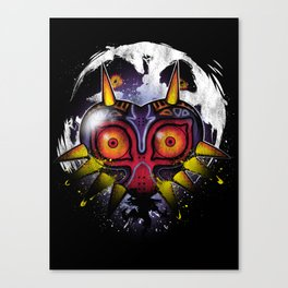 Power Behind the Mask Canvas Print