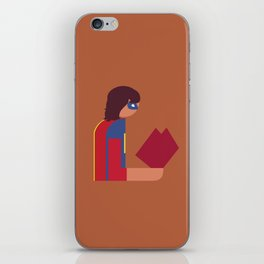Ms Lady Reads iPhone Skin