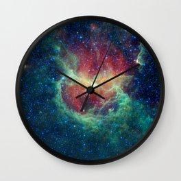 704. Chasing Chickens in the Lambda Centauri Nebula Wall Clock