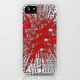 Explosion of Love iPhone Case