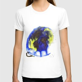 "Fantastic animals ""Blue Turtle"" T-shirt"