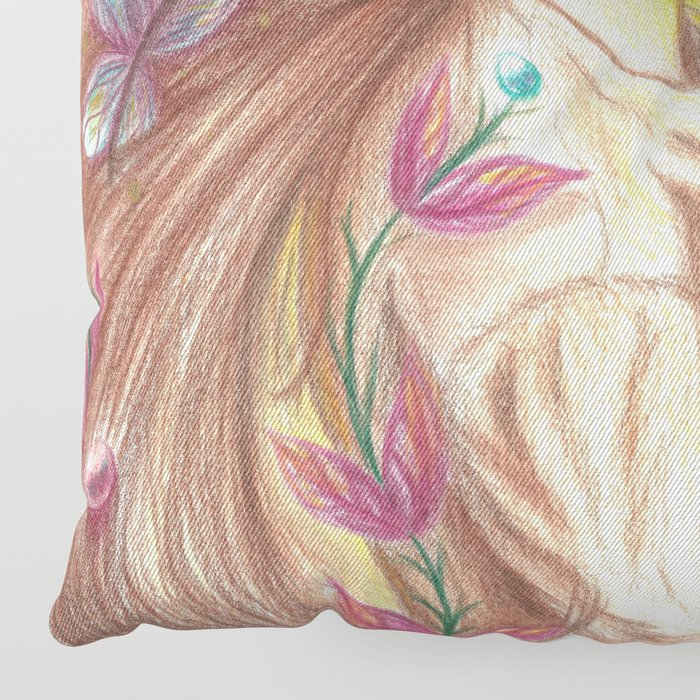 Dream Child Floor Pillow by nokcturna | Society6