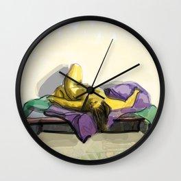 Figure Drawing Wall Clock