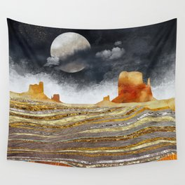 Metallic Desert Wall Tapestry
