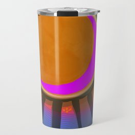 Full Moon Rays Travel Mug