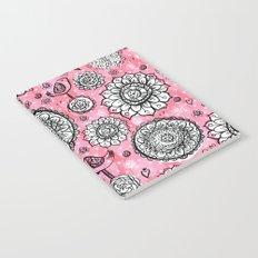 Painted Mandala Notebook
