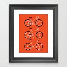 Go Go Go Framed Art Print