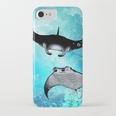 Manta Rays iPhone 7 Slim Case