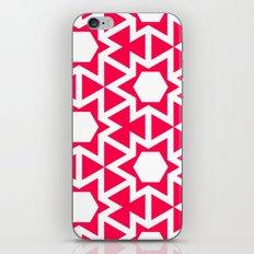 Zoutman Neon Pink Pattern iPhone & iPod Skin
