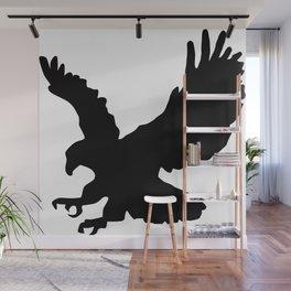 Eagle Silhouette Wall Mural