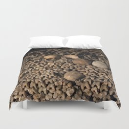 We Are All the Same in the End Duvet Cover