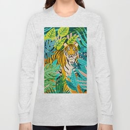 Only 3890 Left. #painting #wildlife Long Sleeve T-shirt
