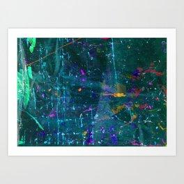 pattern three Art Print