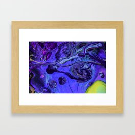 Purple Vortex Framed Art Print