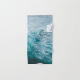 STORMY - BLUE - SEA - IN - SUNLIGHT - PHOTOGRAPHY Hand & Bath Towel