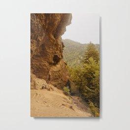 Alum Cave Bluffs Metal Print
