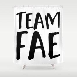 Team Fae Shower Curtain