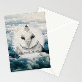 -She Knows Better Stationery Cards
