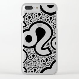Virgo Zodiac Pattern Clear iPhone Case