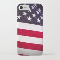 america iPhone & iPod Cases featuring America by Mary Timman