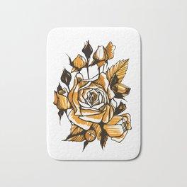 Roses sketch Bath Mat