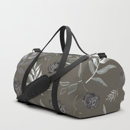 Simple and stylized flowers 17 Duffle Bag
