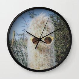 Cool Cactus Wall Clock