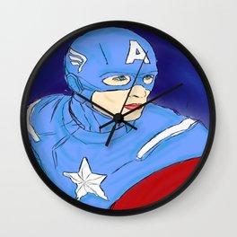 Cap Wall Clock