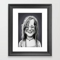 JanisJoplin Framed Art Print