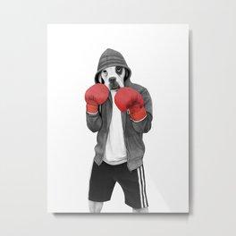 Street boxer Metal Print