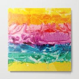 Rainbow Abstract #12 Metal Print