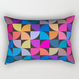 Colorful geometric Rectangular Pillow