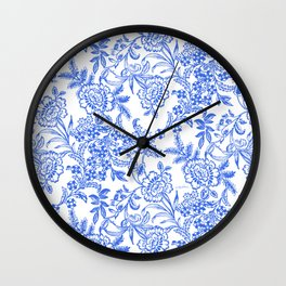 Tea Time Reversed Wall Clock