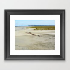 Pilgrims Framed Art Print