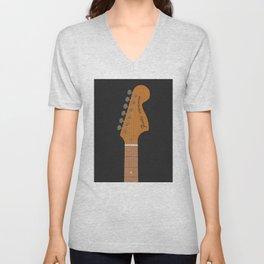 Stratocaster Guitar Unisex V-Neck