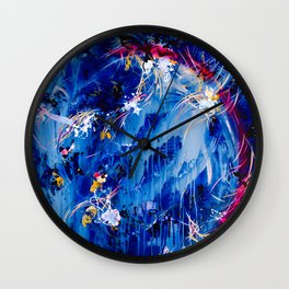 As The Universe Falls Together Wall Clock