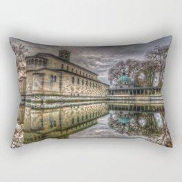 Time to reflect.  Rectangular Pillow