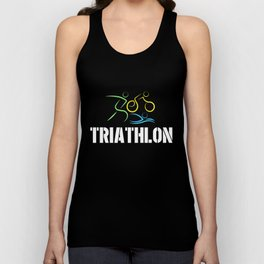 Triathlon - Swimming Unisex Tank Top