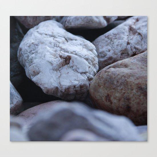 cold stones Canvas Print