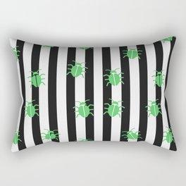 Beetle Juice Stripes Rectangular Pillow